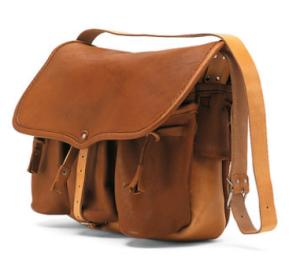 Manufactum Provenzalische Tasche aus Leder Fototasche