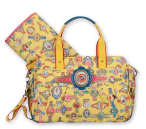 Oilily Wickeltasche OES Babybag gelb