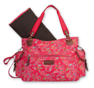 Oilily Wickeltasche OES Babybag rot Paisley