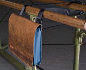 Zirkeltraining Laptoptasche Barren braun Schultergurt