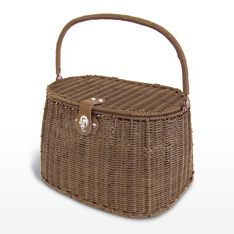 BASIL Beautyshopper Rattan Look braun