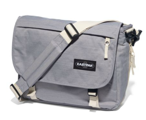 Eastpak Delegate Green Blue Umhängetasche aus Recycling
