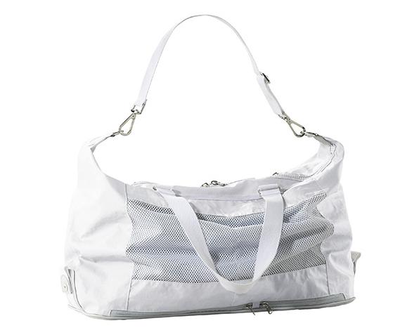 c9b3d9dc11062 Frauen Tennis Bag von adidas by Stella McCartney hochgeklappt