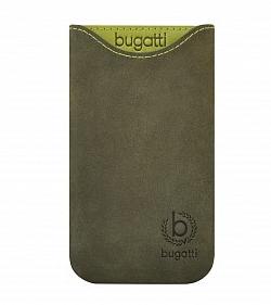 Handytasche von Bugatti für Samsung Galaxy S3 Skinny Leder grün