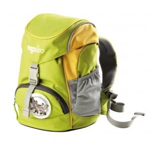 Kindergartentasche Schniekolivo grün gelb ergolino