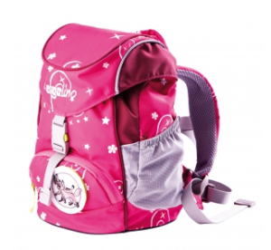 Kindergartentaschen Schniekelessa pink ergolino
