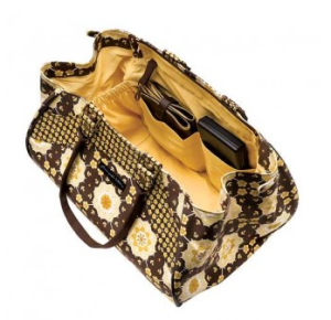 Wickeltasche Blissful Buttercup von Petunia Pickle Bottom - Innenansicht