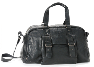 Ledertasche Hugo von aunts and uncles in schwarz