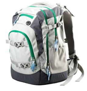 ergobag satch Schulrucksack x-up #11 grau grün