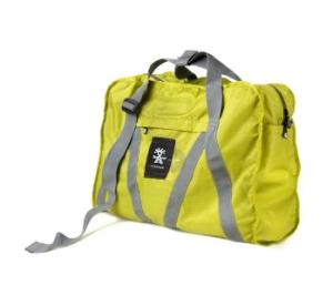 Light Delight Weekender Tasche von crumpler in gelb